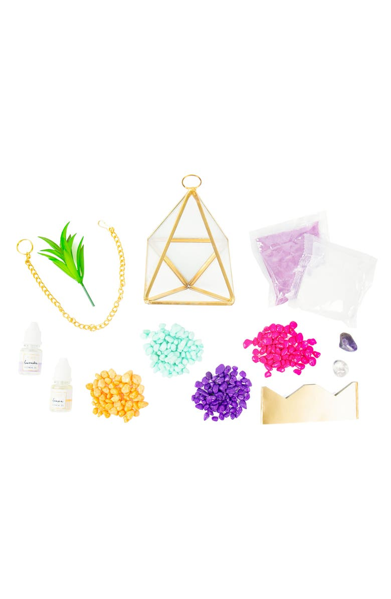STMT DIY Crystal Terrarium Kit, Main, color, 400