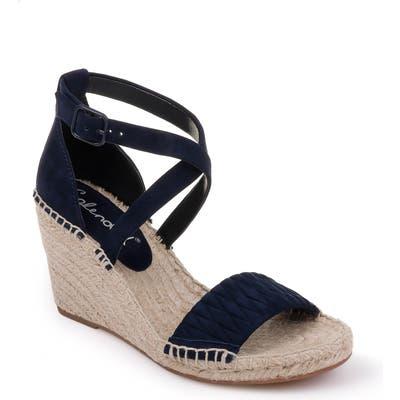 Splendid Sheri Wedge Espadrille Sandal, Blue