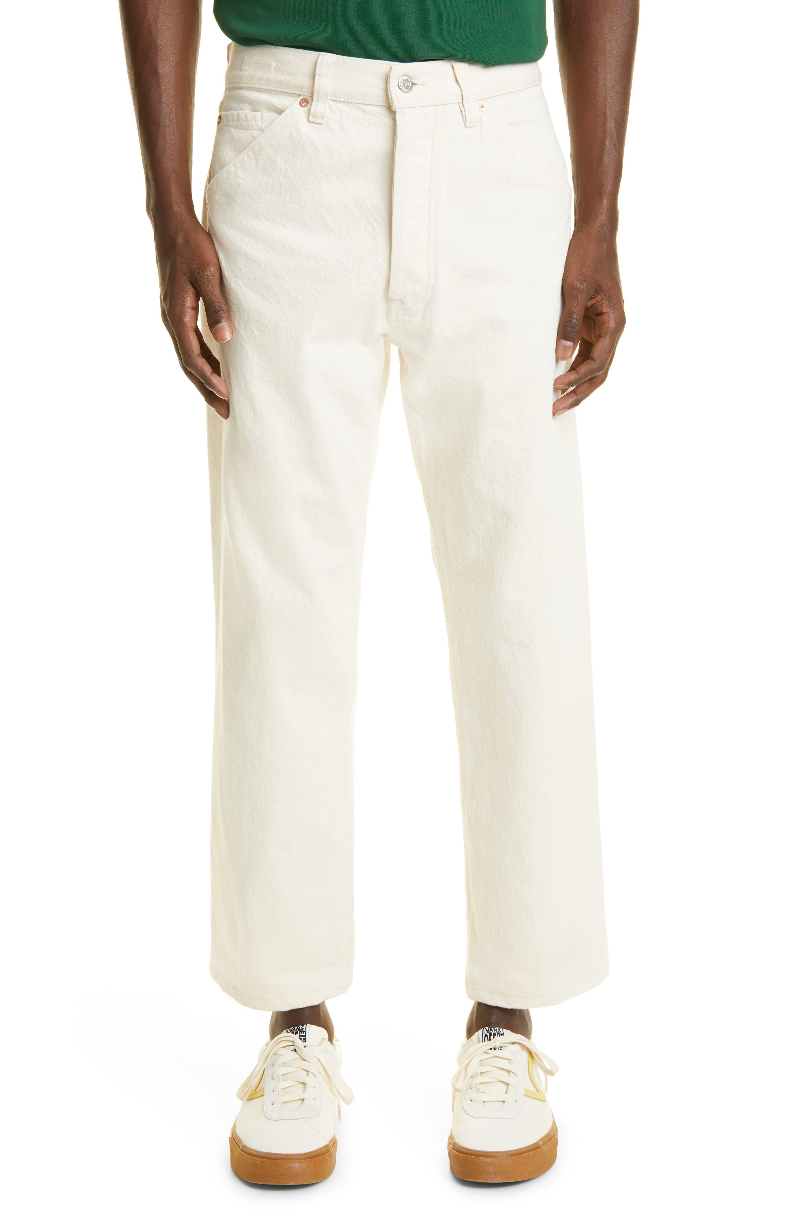 Selvedge Denim Straight Leg Jeans
