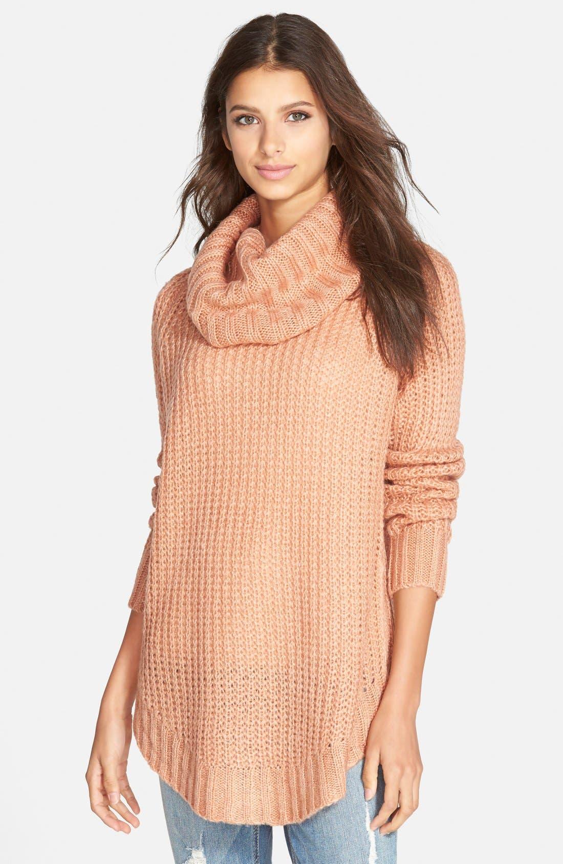 ,                             Cowl Neck Sweater,                             Main thumbnail 35, color,                             650