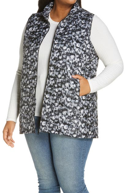 Bobeau QUILTED PUFFER VEST