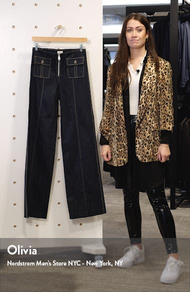 Azure Wide Leg Jeans, sales video thumbnail