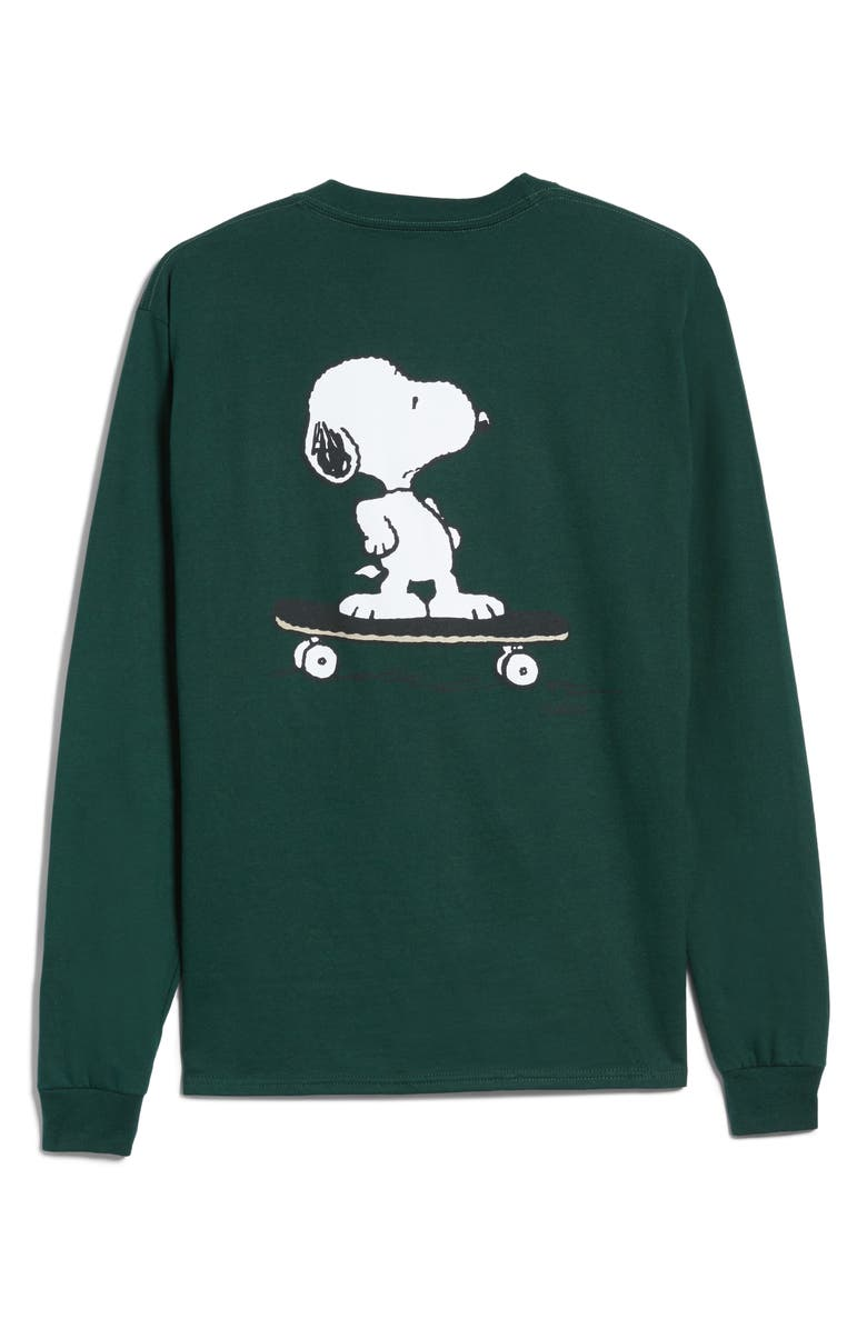 30093b629 Peanuts Snoopy Skate Long Sleeve T-Shirt, Main, color, 301