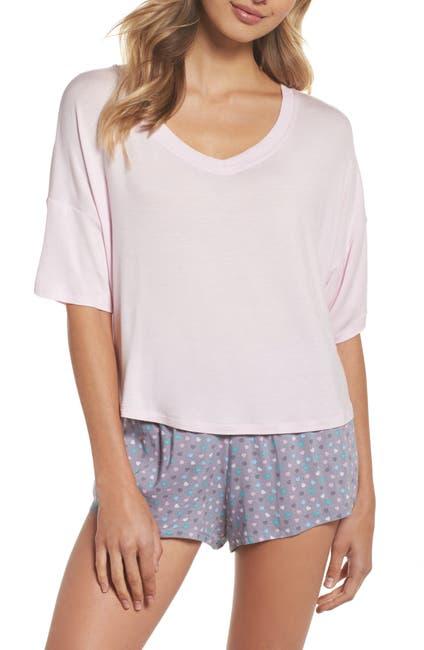 Image of Honeydew Intimates Rayon T-Shirt & Woven Short Pajamas