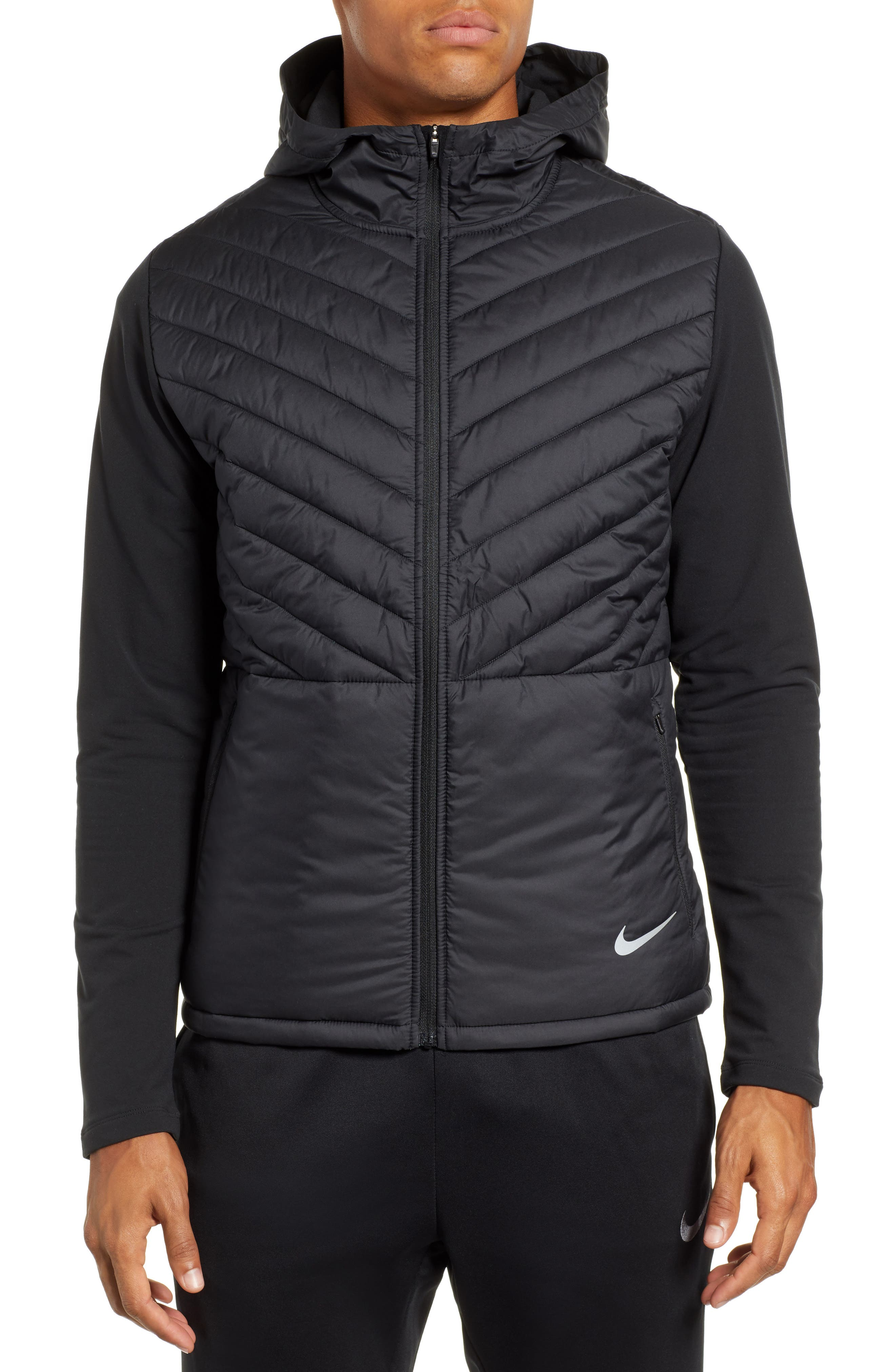 Nike AeroLayer Hooded Running Jacket
