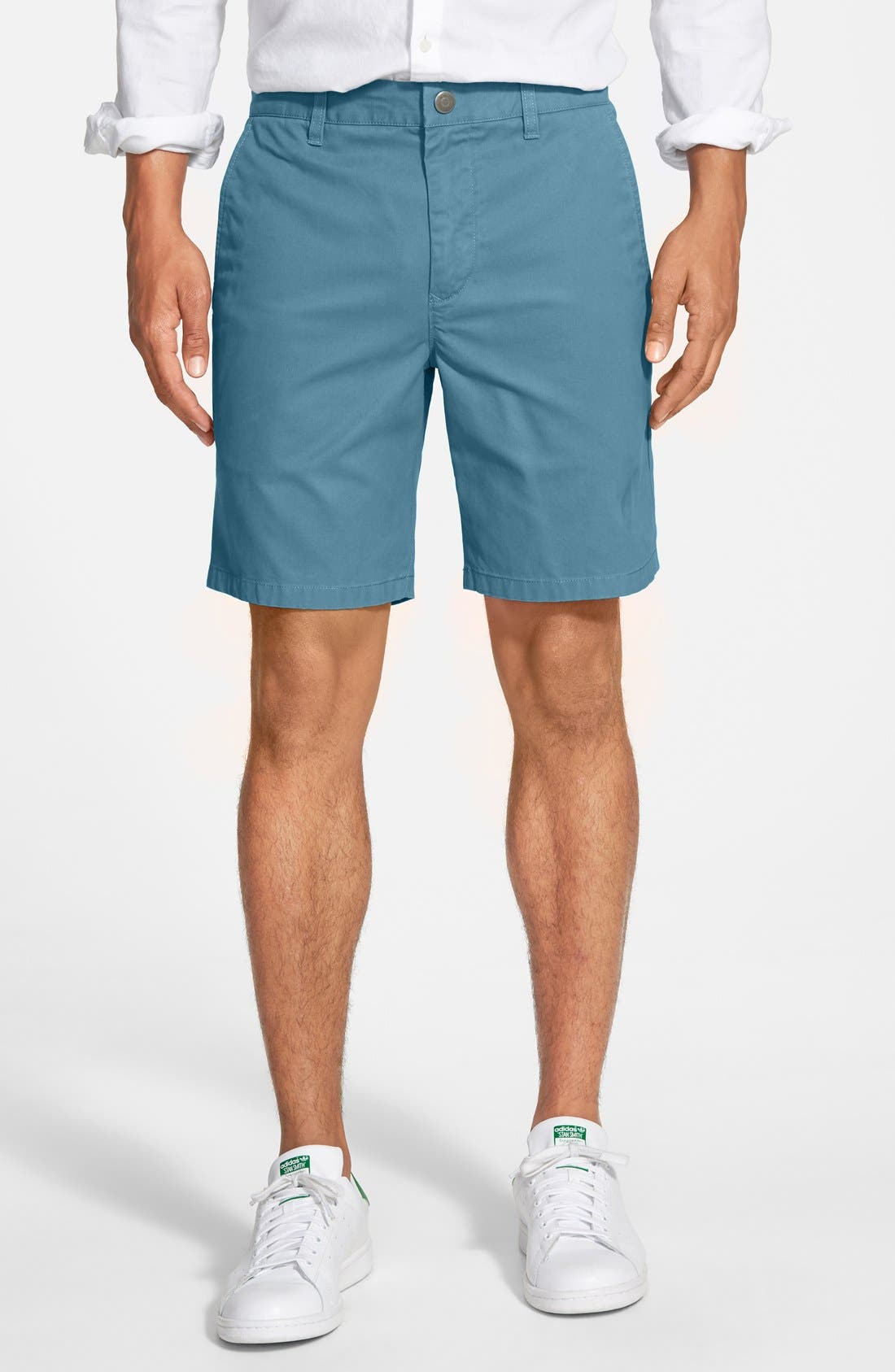,                             Washed Chino Shorts,                             Main thumbnail 65, color,                             417