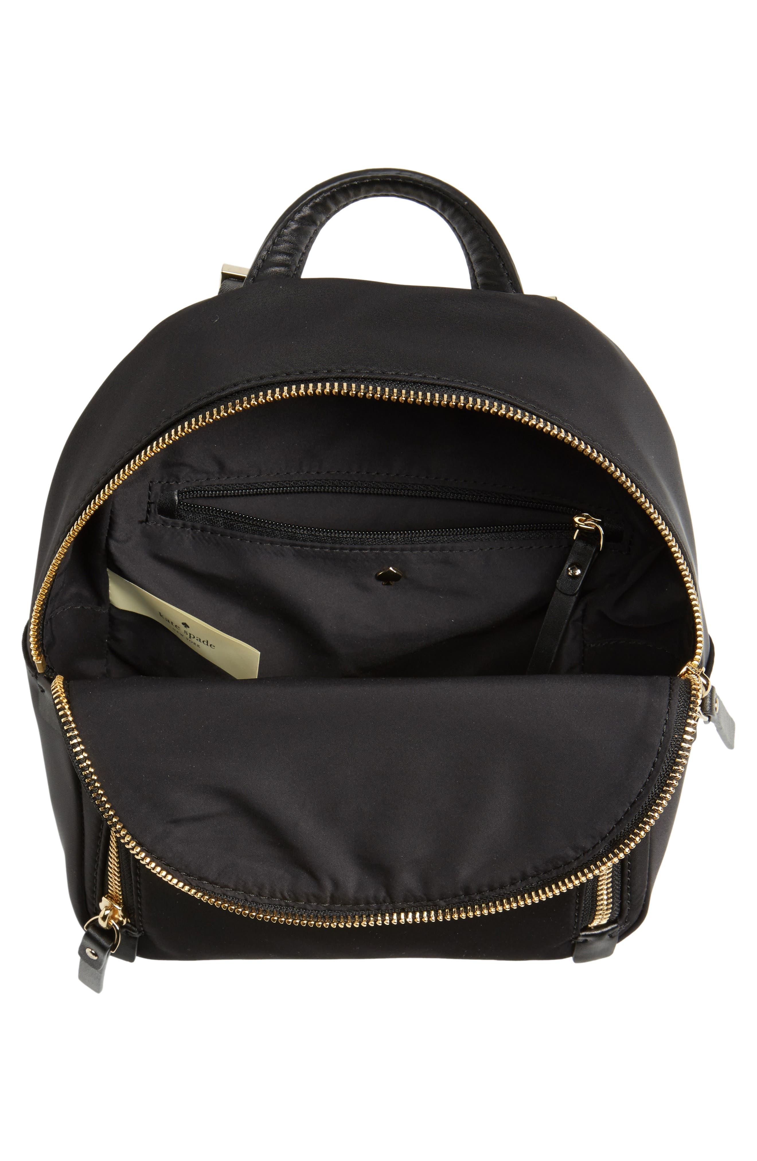 ,                             watson lane - small hartley nylon backpack,                             Alternate thumbnail 5, color,                             BLACK