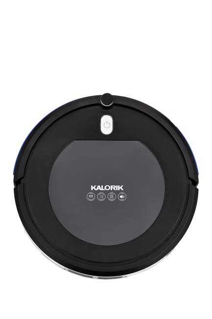 Image of Kalorik Home Ionic Pure Air Robot Vacuum - Black and Gray
