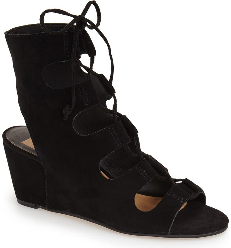 DOLCE VITA 'Louise' Ghillie Wedge, Main, color, 001