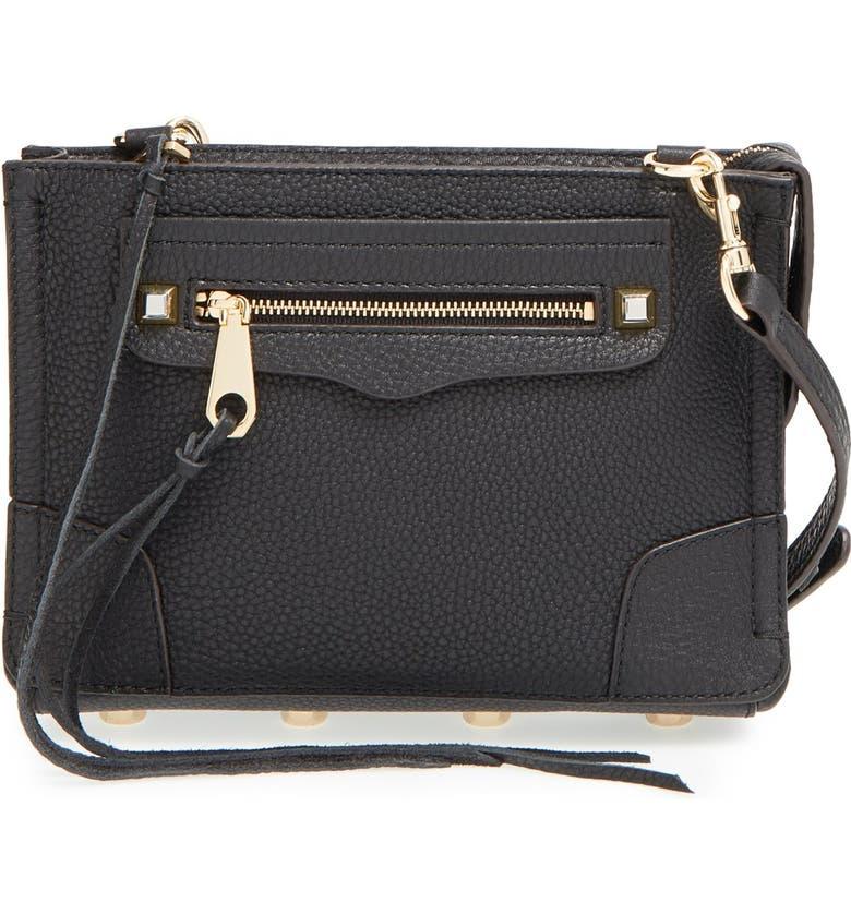 REBECCA MINKOFF 'Regan' Crossbody Bag, Main, color, 001