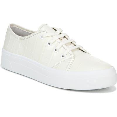 Via Spiga Viola Platform Sneaker- White