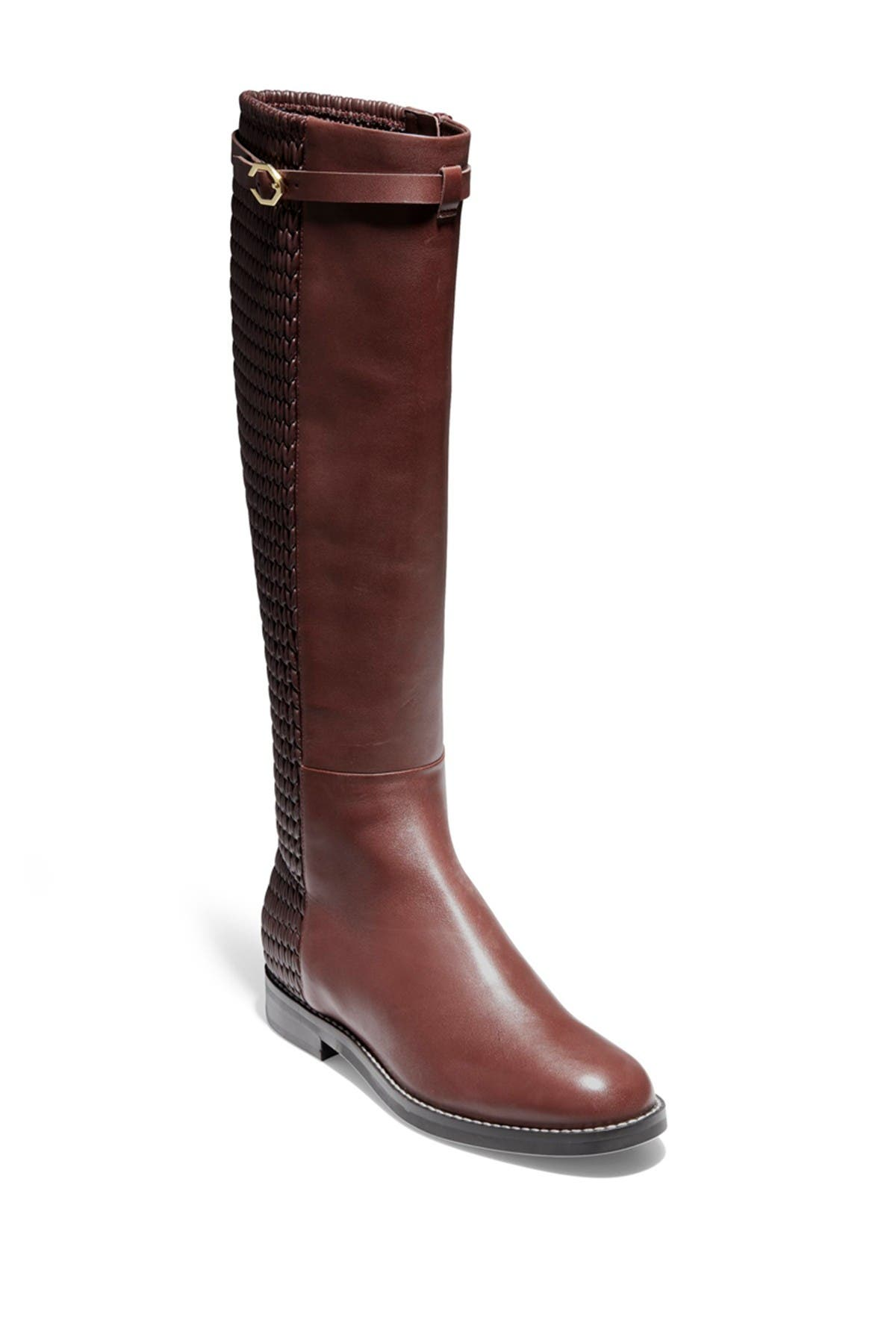 Image of Cole Haan Abi Textured Shaft Riding Boot