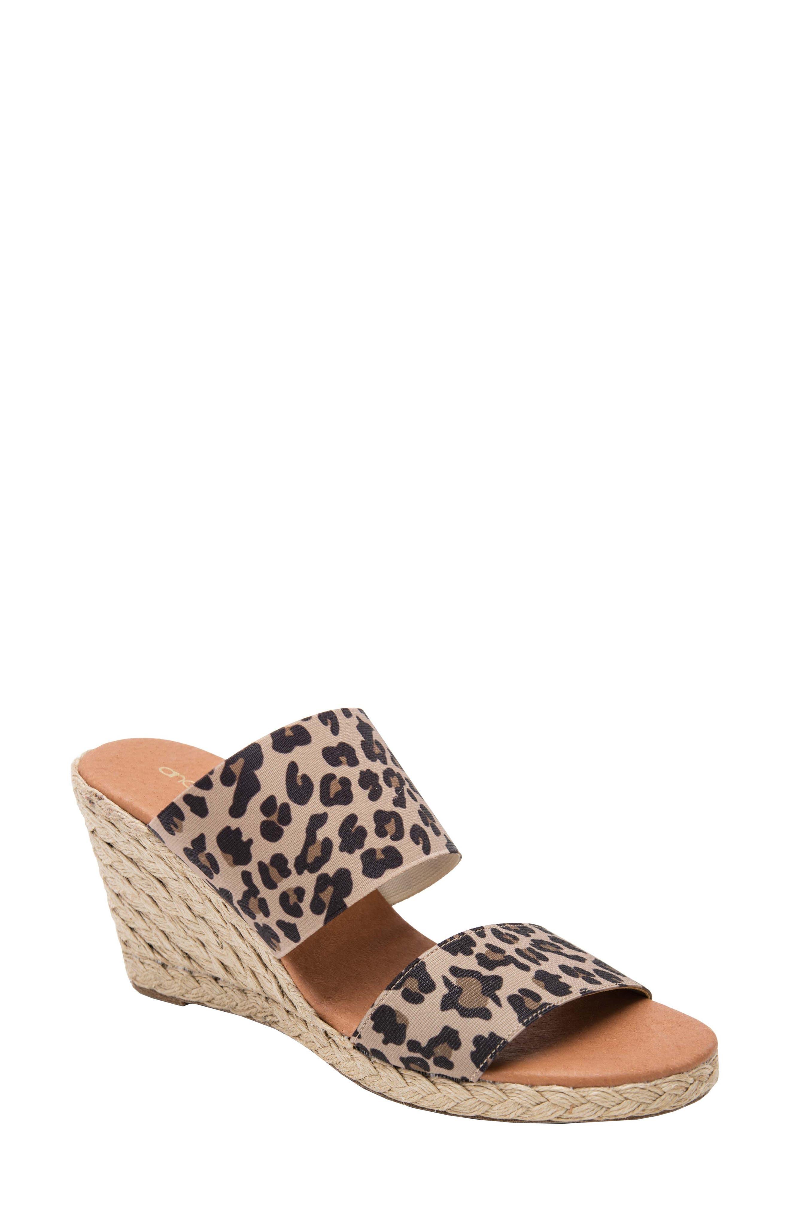 Amalia Strappy Espadrille Wedge Slide Sandal