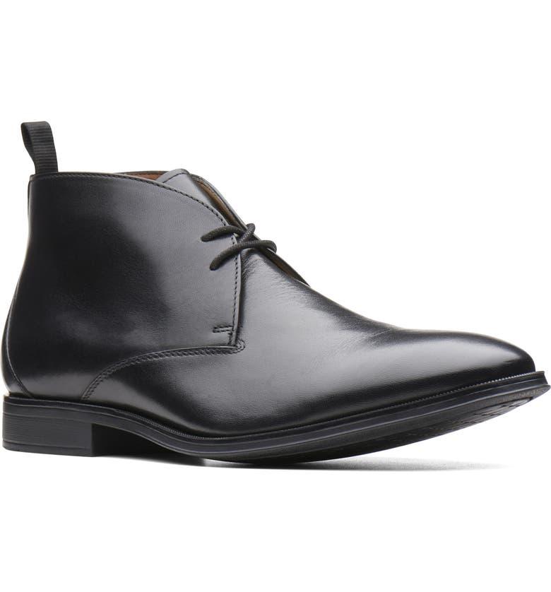 CLARKS<SUP>®</SUP> Gilman Mid Chukka Boot, Main, color, 003