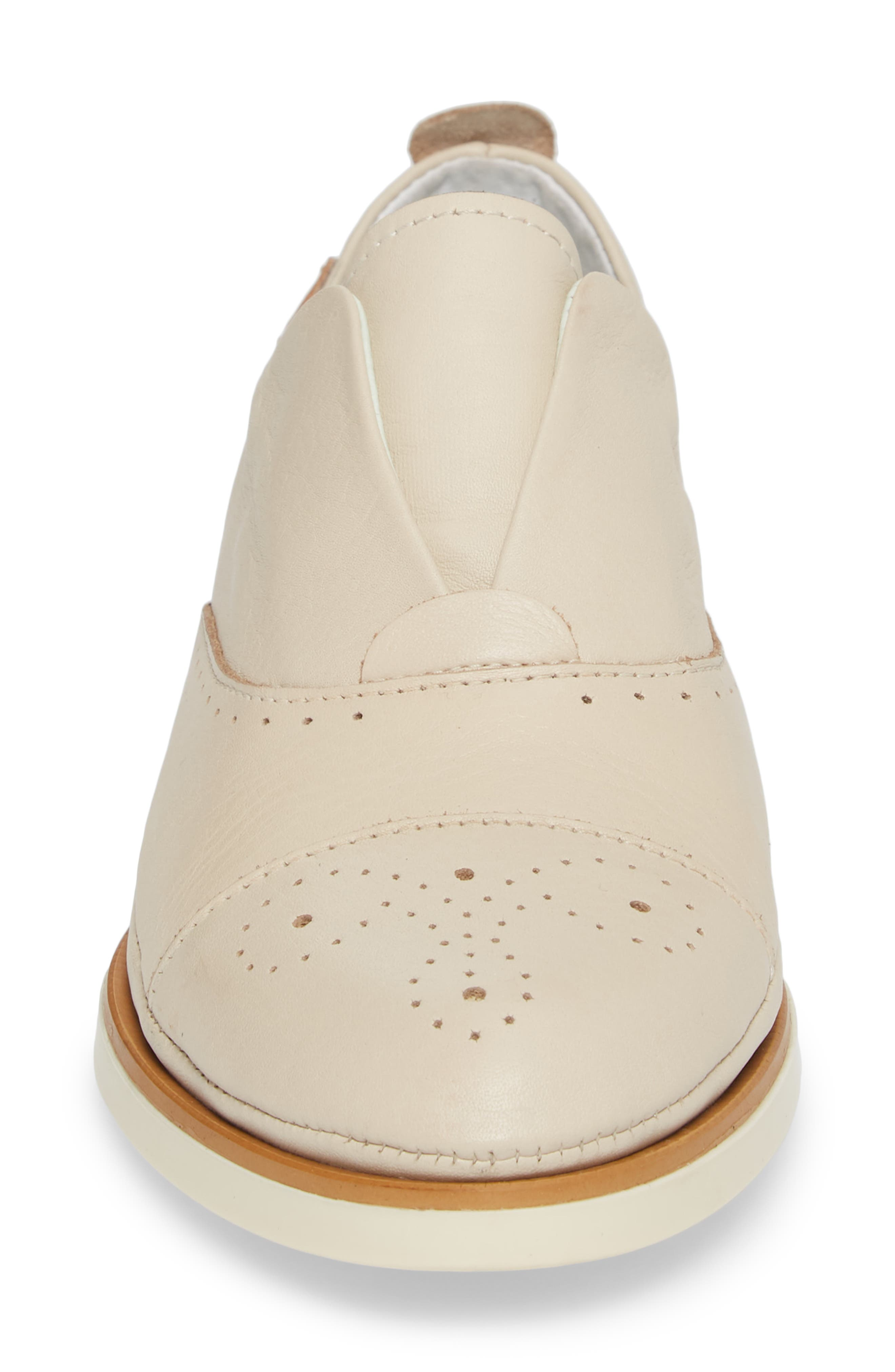 ,                             Pyrgos Oxford,                             Alternate thumbnail 4, color,                             MARFIL LEATHER