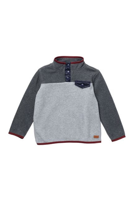 Image of 7 For All Mankind Polar Fleece Pullover