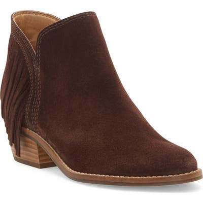 Lucky Brand Freedah Bootie- Brown