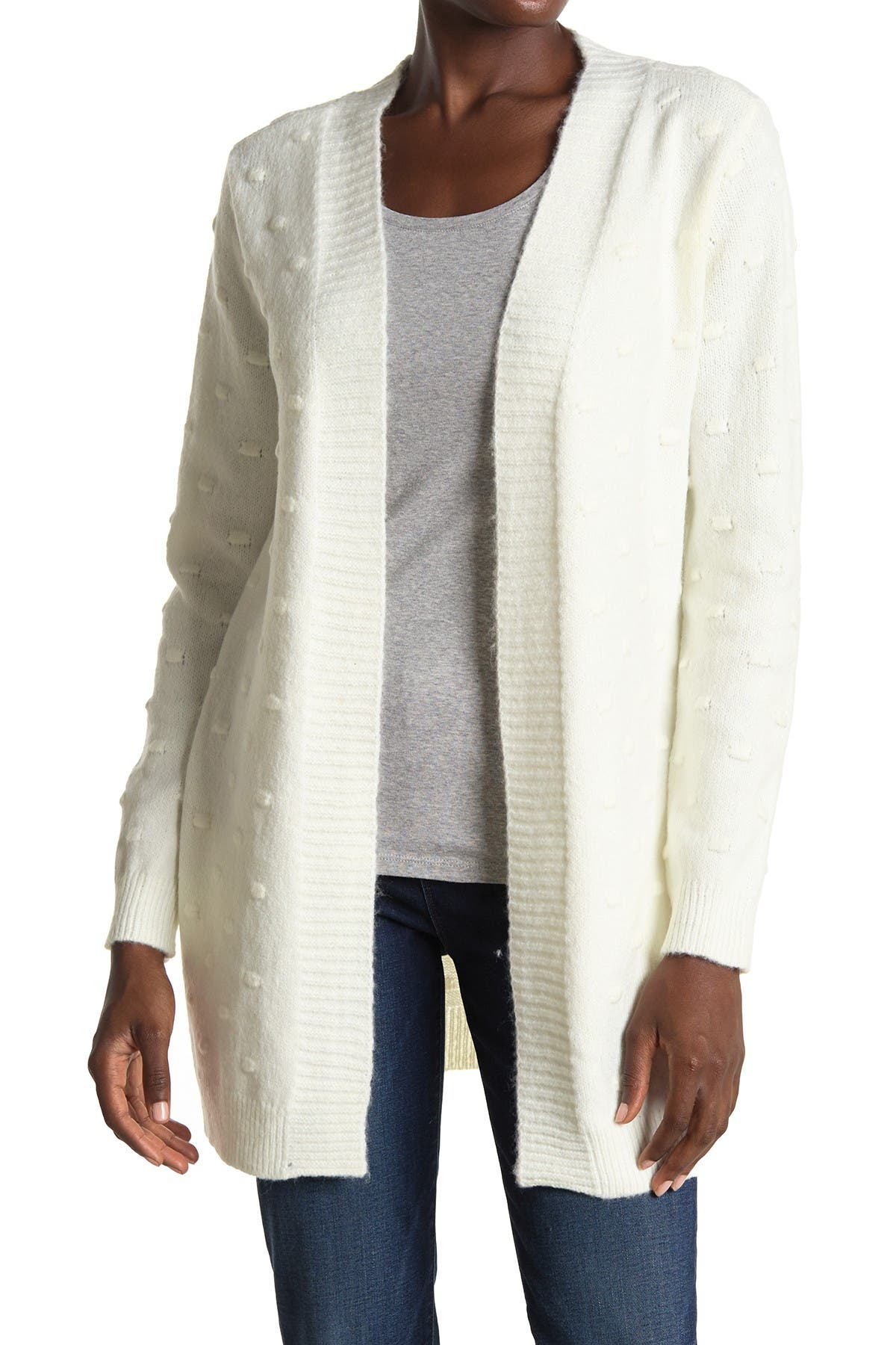 Image of Love by Design Maribel Bobble Stitch Cardigan