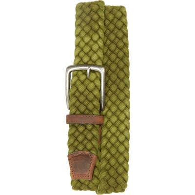 Torino Woven Cotton Belt, Olive