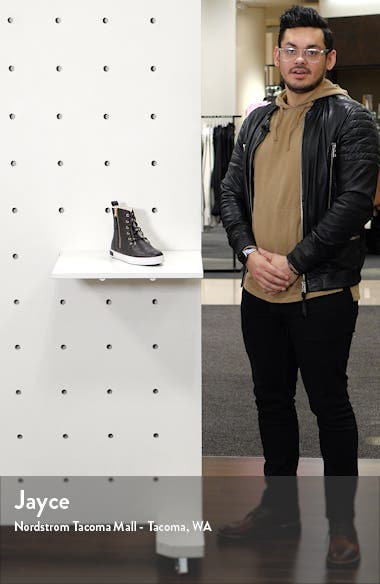 'CW96' Genuine Shearling Lined Sneaker Boot, sales video thumbnail