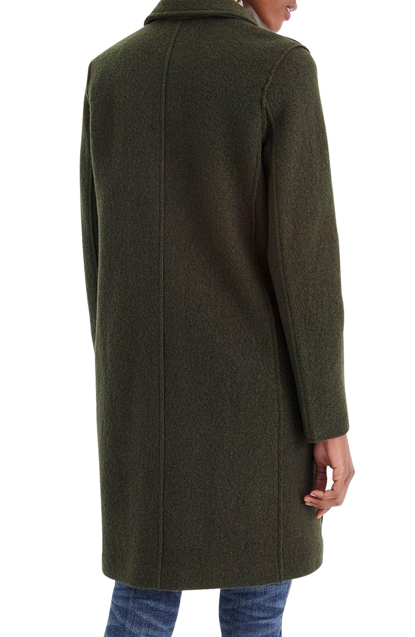 ,                             Daphne Boiled Wool Topcoat,                             Alternate thumbnail 2, color,                             301