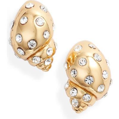 Kate Spade New York Under The Sea Studded Shell Earrings