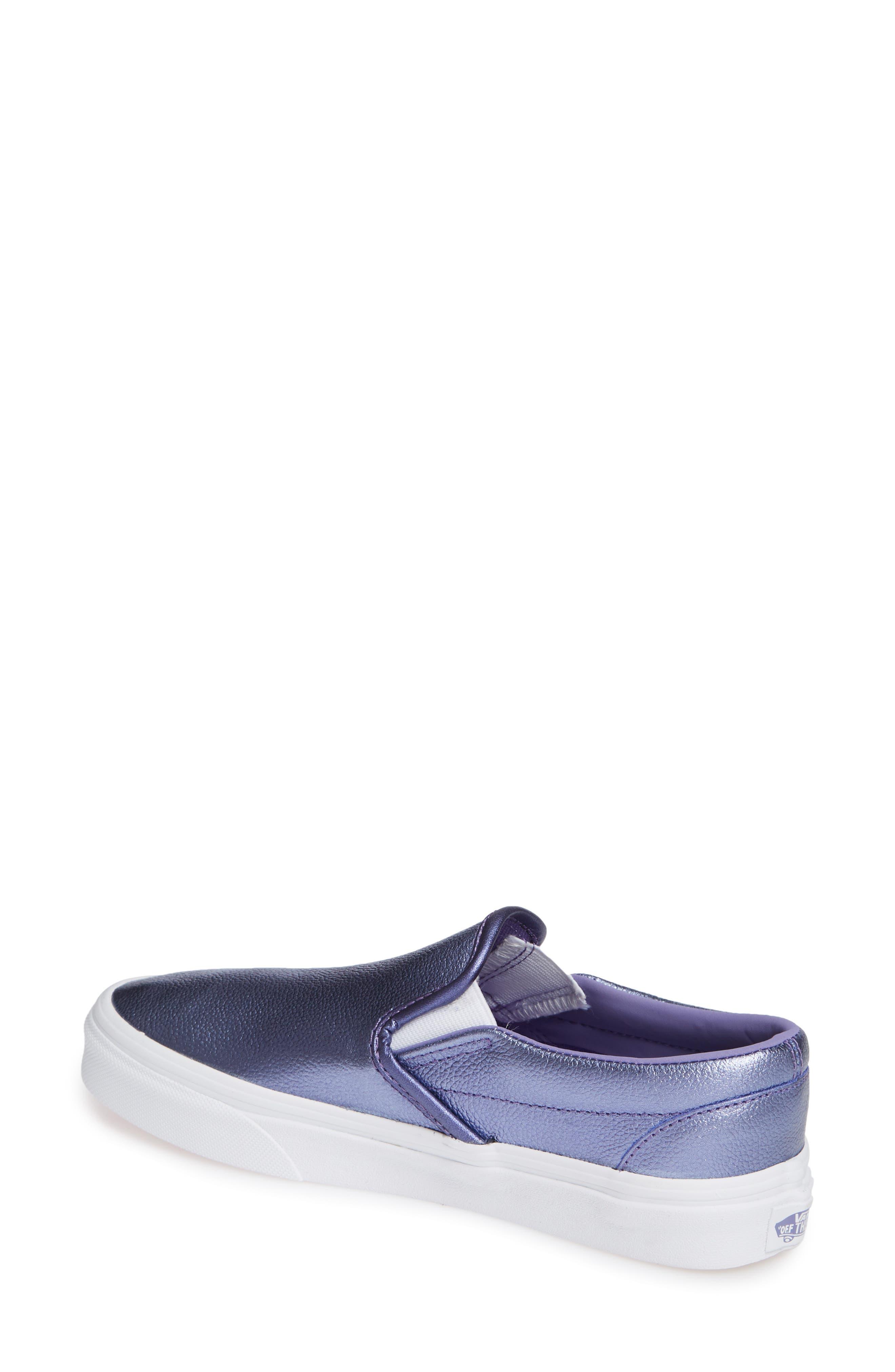 ,                             Classic Slip-On Sneaker,                             Alternate thumbnail 42, color,                             403