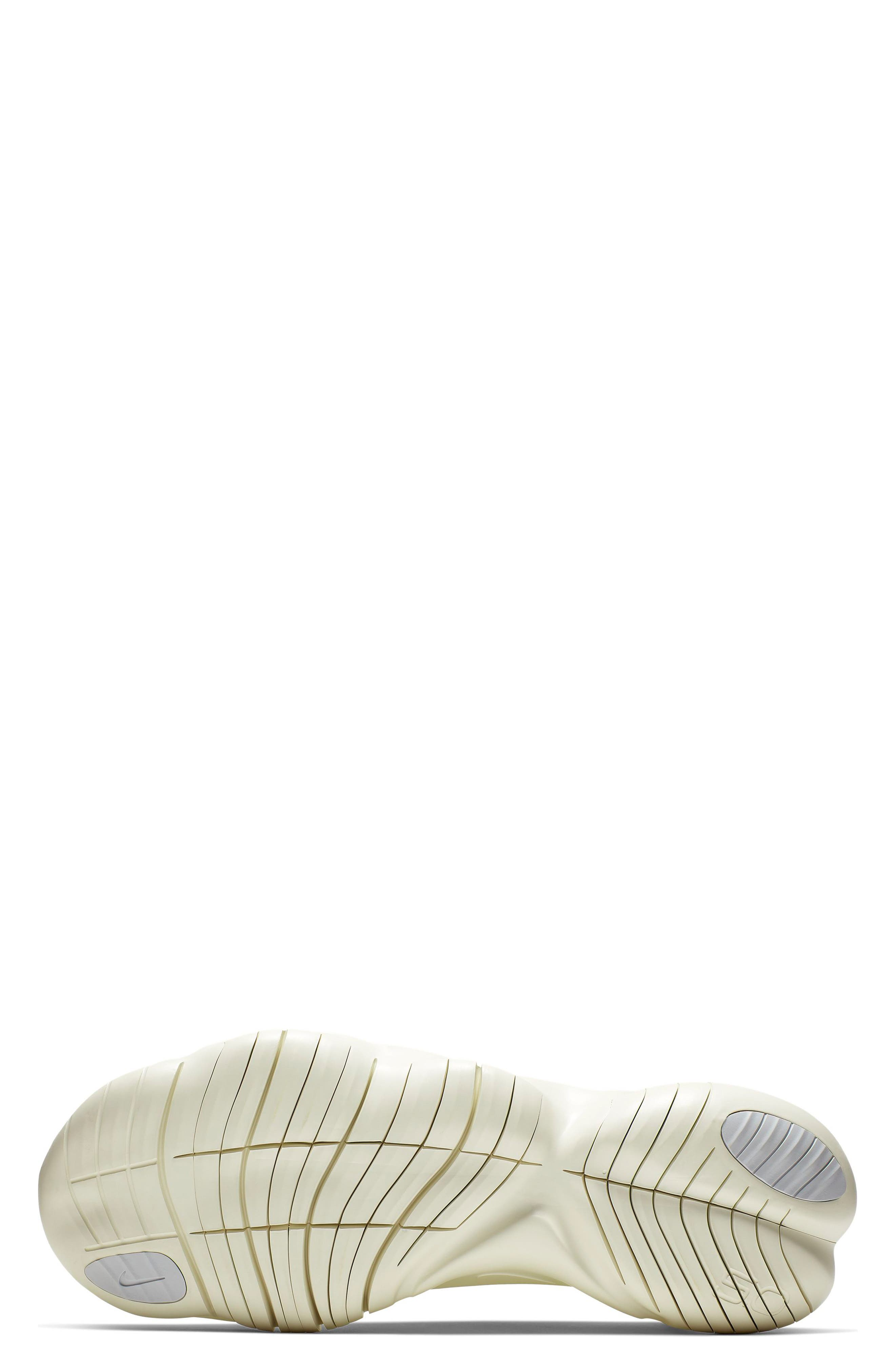 ,                             Free RN 5.0 Running Shoe,                             Alternate thumbnail 5, color,                             LUMINOUS GREEN/ BLACK/ SAIL