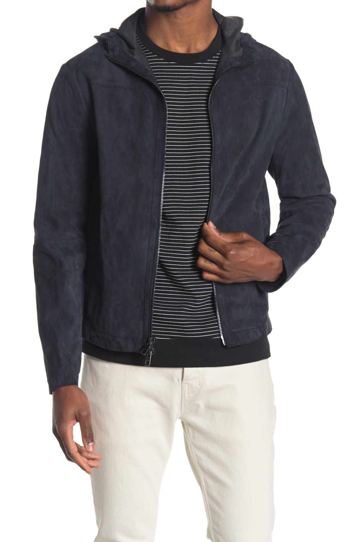 Image of Michael Kors Bonded Suede Jacket