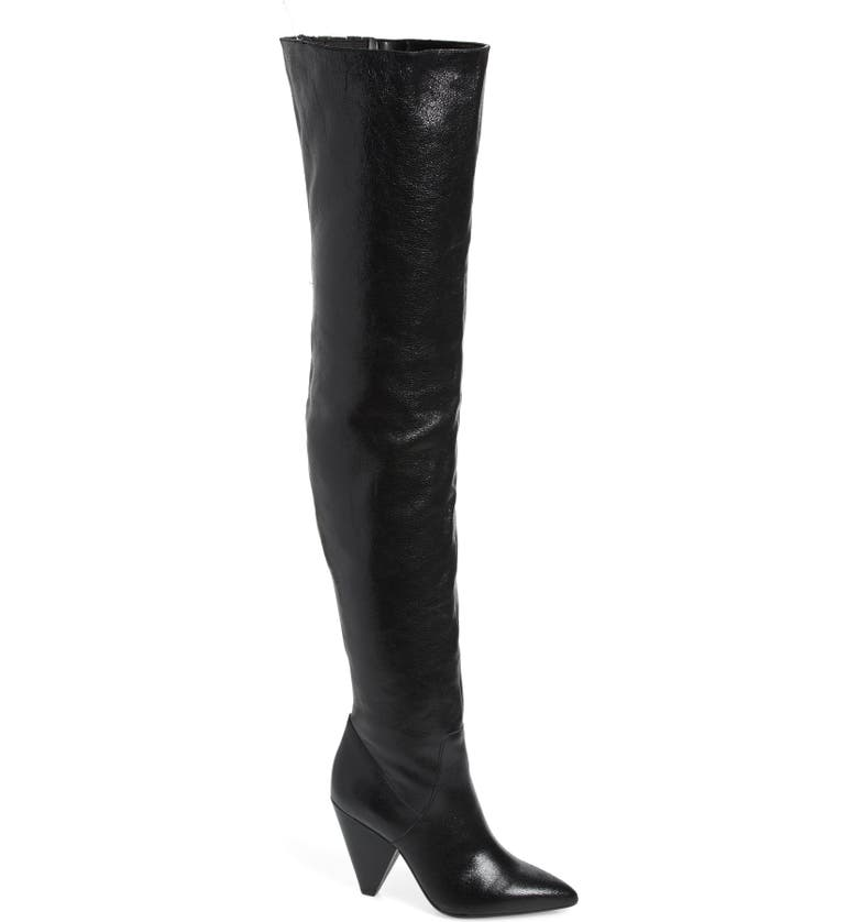 KENNETH COLE NEW YORK Galway Thigh High Boot, Main, color, 001