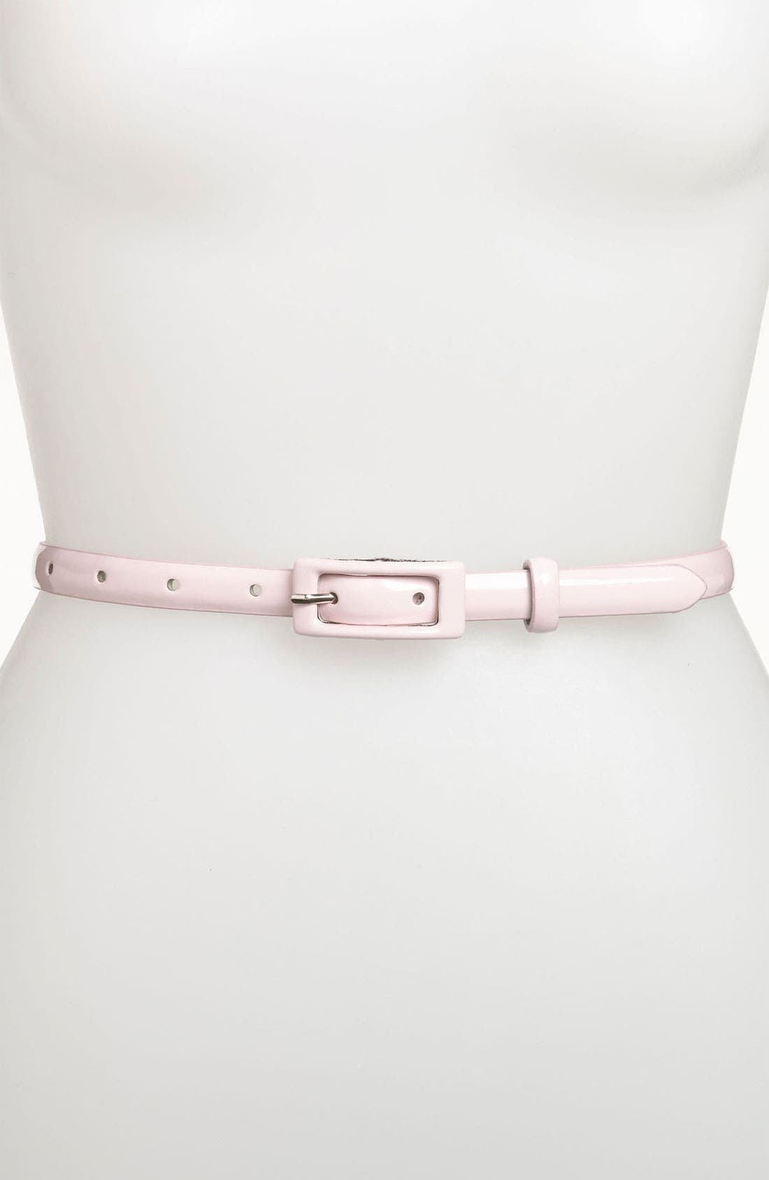 ,                             'Updated' Skinny Patent Belt,                             Main thumbnail 41, color,                             681