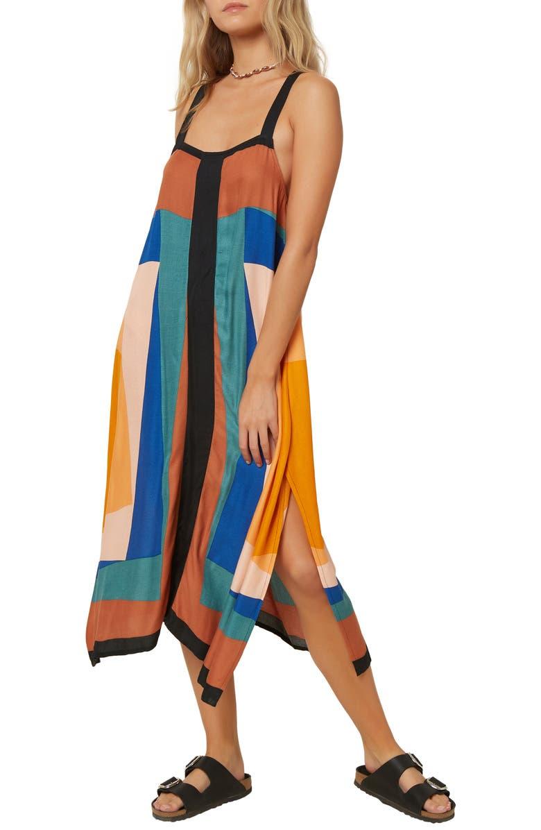 O'NEILL Miranda Sleeveless Midi Dress, Main, color, 200