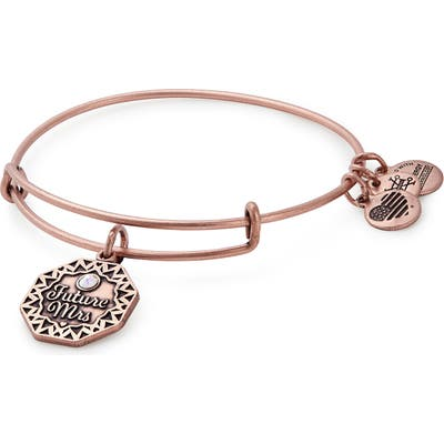 Alex And Ani Future Mrs. Expandable Wire Bangle
