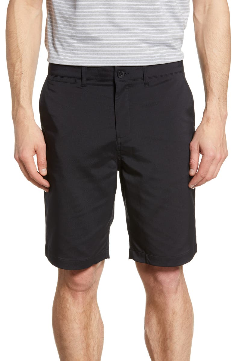 JOHNNIE-O Mulligan Regular Fit Prep-Formance Shorts, Main, color, BLACK