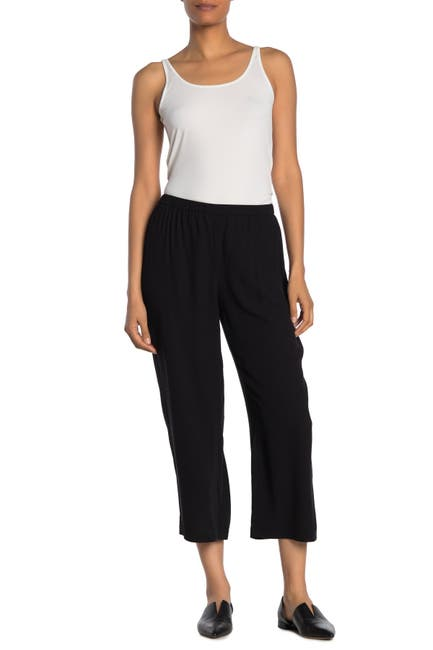 Image of Eileen Fisher Straight Crop Pants