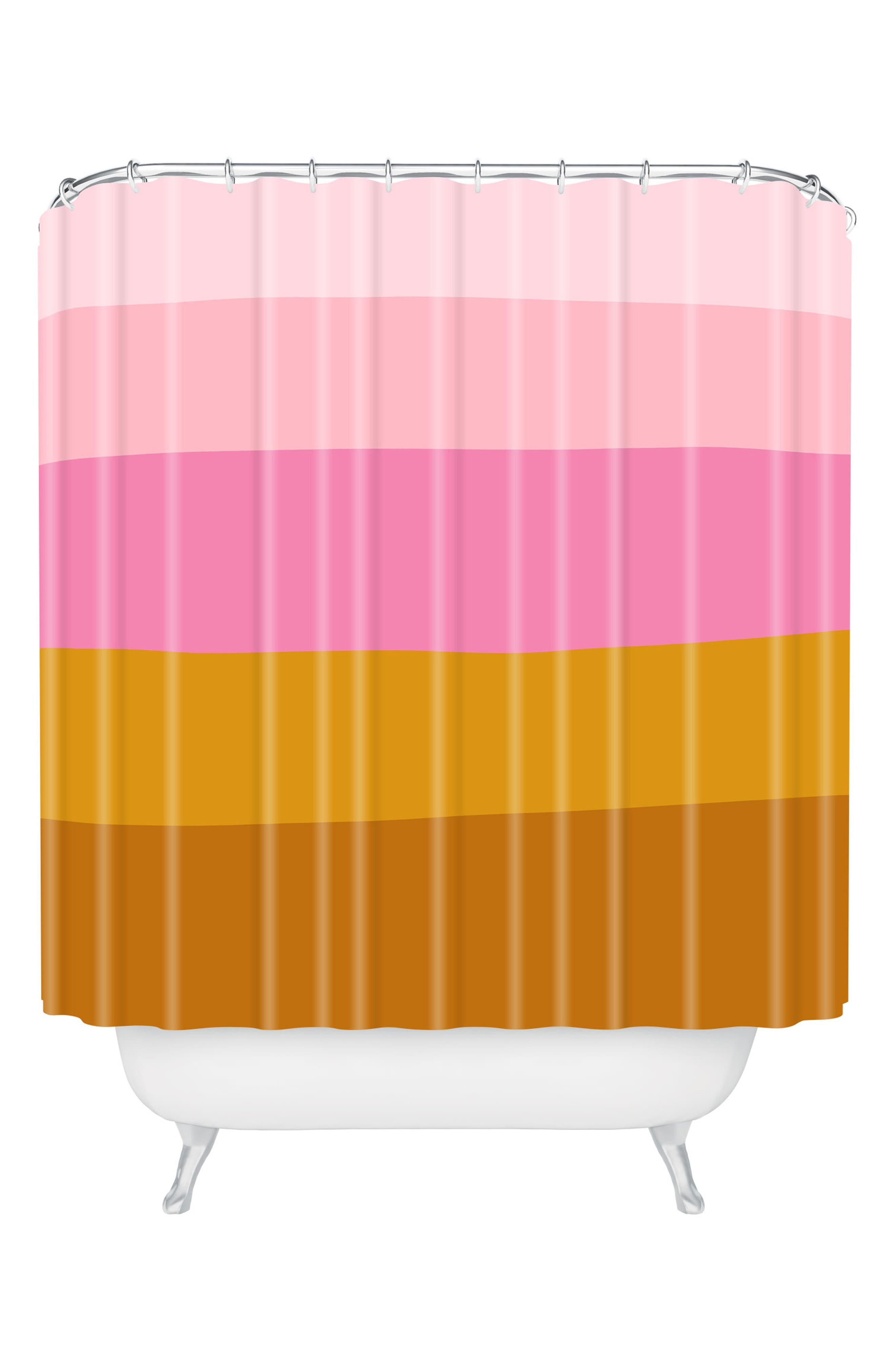 Deny Designs June Journal Retro Shower Curtain Nordstrom