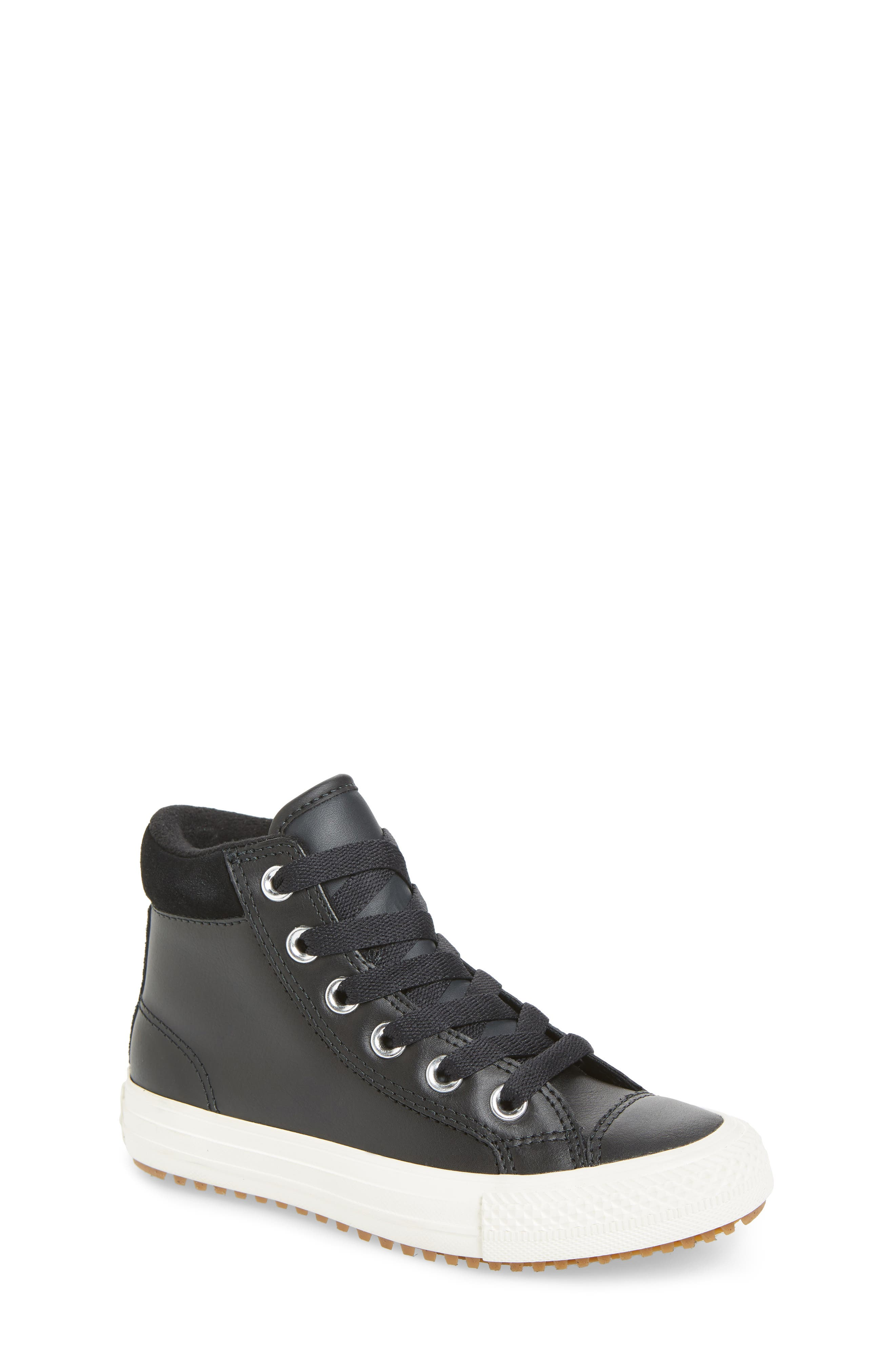 Chuck Taylor<sup>®</sup> All Star<sup>®</sup> PC High Top Sneaker, Main, color, BLACK