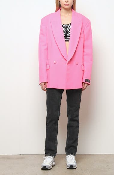 Fluorescent Oversize Blazer, video thumbnail