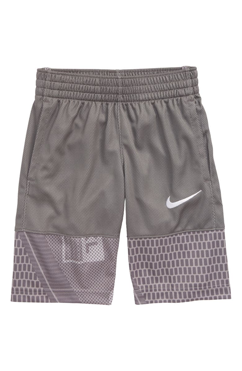 NIKE Dri-FIT Avalanche Athletic Shorts, Main, color, GUNSMOKE