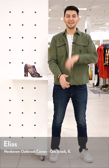 Fou Block Heel Sandal, sales video thumbnail