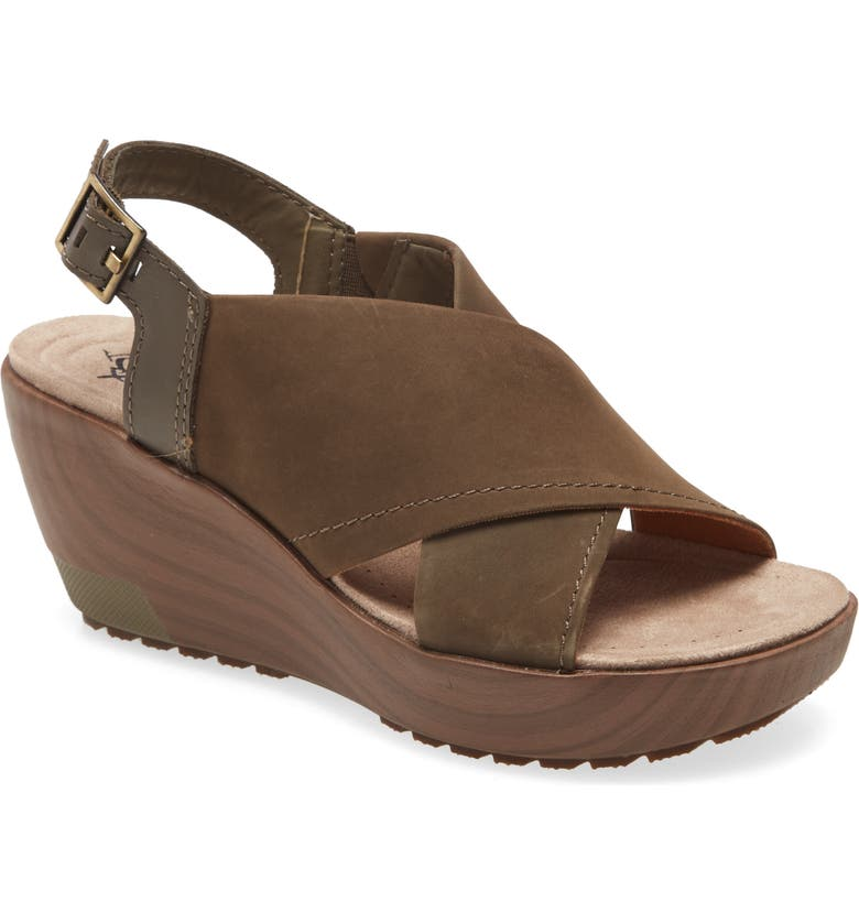 OTBT Yvonne Slingback Wedge Sandal, Main, color, 331