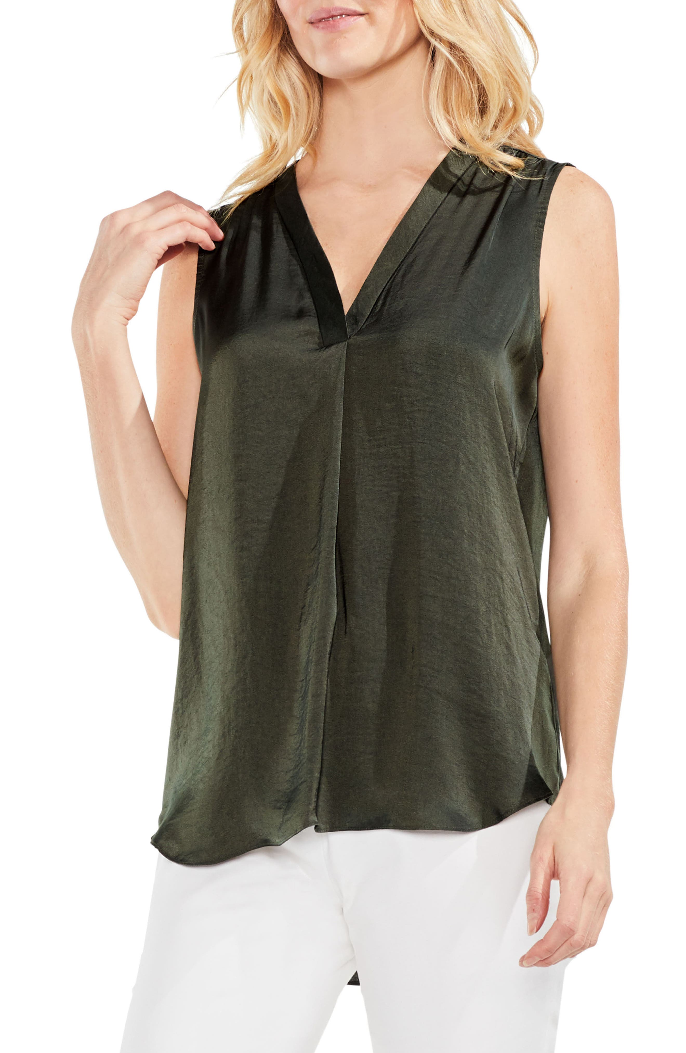 ,                             Rumpled Satin Blouse,                             Main thumbnail 149, color,                             360