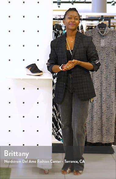 Colleen Espadrille Wedge Slide Sandal, sales video thumbnail