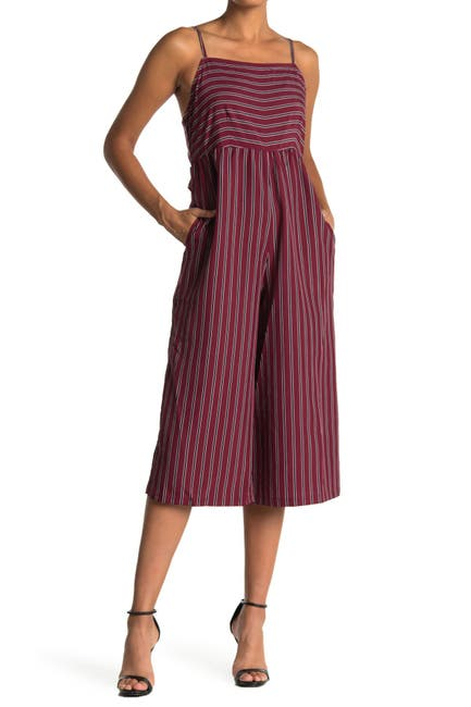Image of Angie Striped Wide Leg Jumpsuit