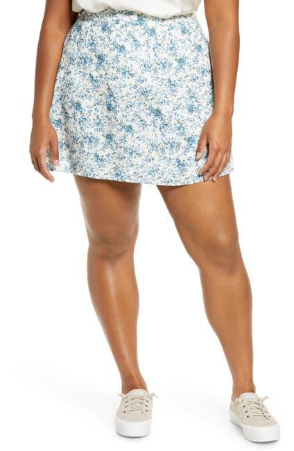 Image of BP. Print Mini Skater Skirt