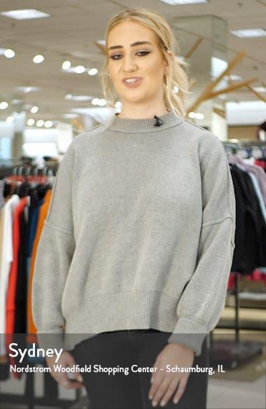 Grego Slim Fit Crewneck Wool Sweater, sales video thumbnail