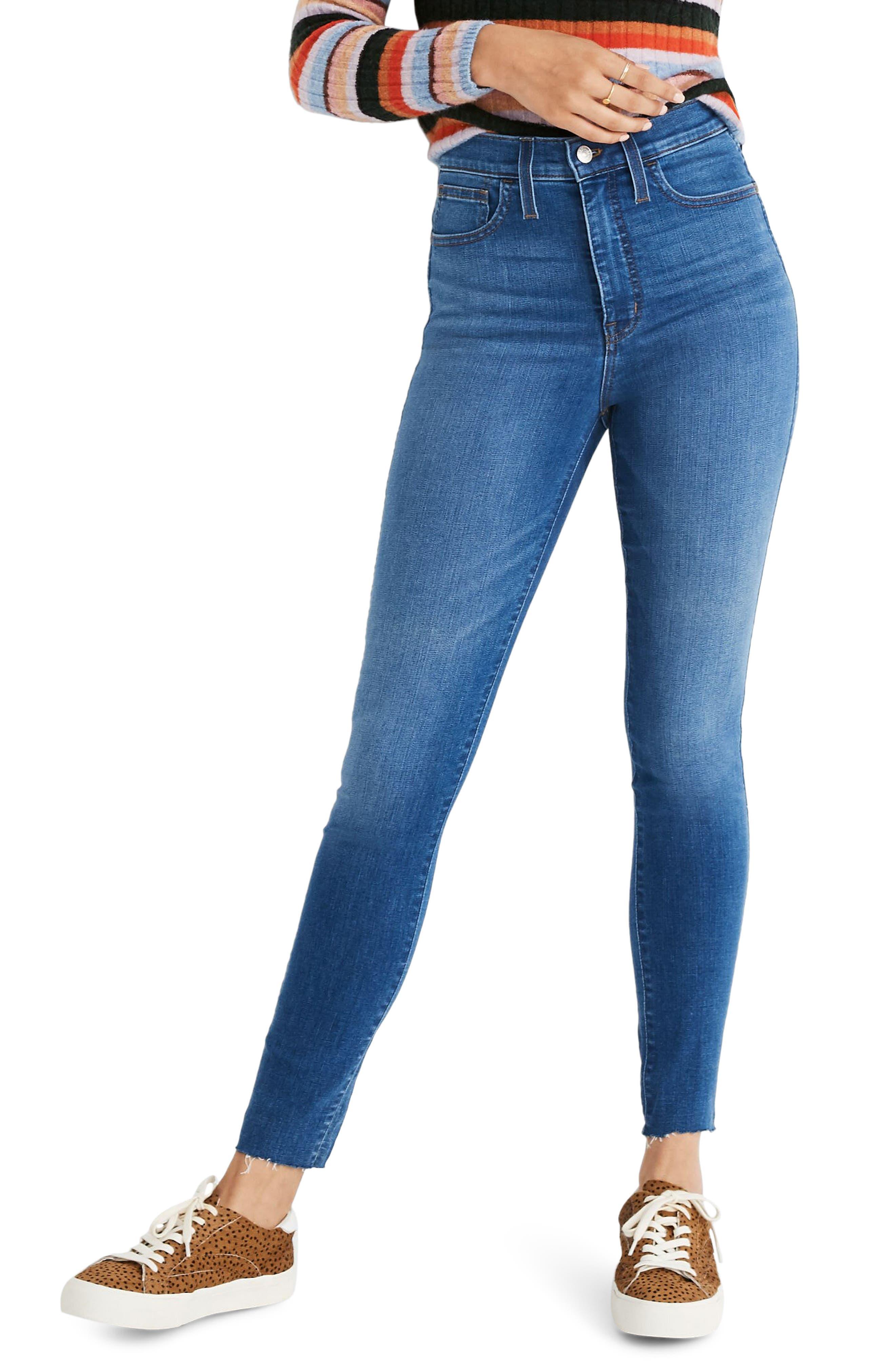 Madewell Roadtripper High Rise Jeans (Regular & Plus Size)