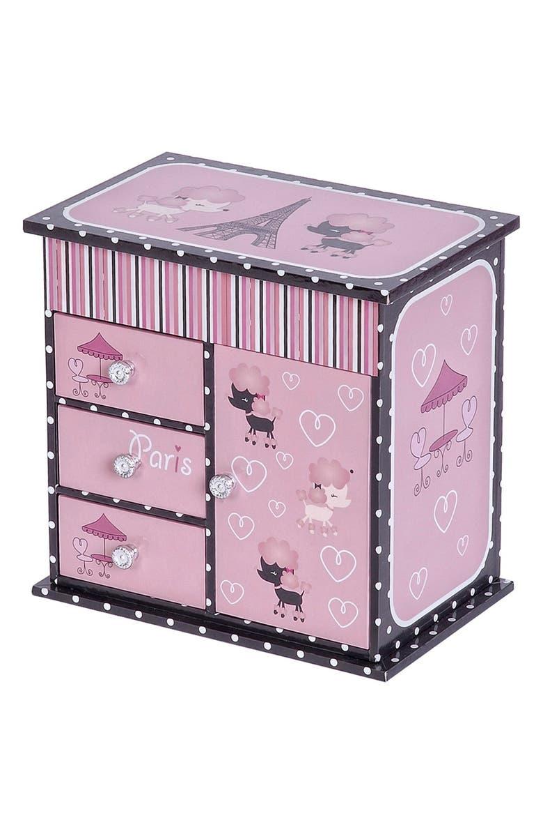 MELE & CO. 'Paris' Musical Ballerina Jewelry Box, Main, color, 000