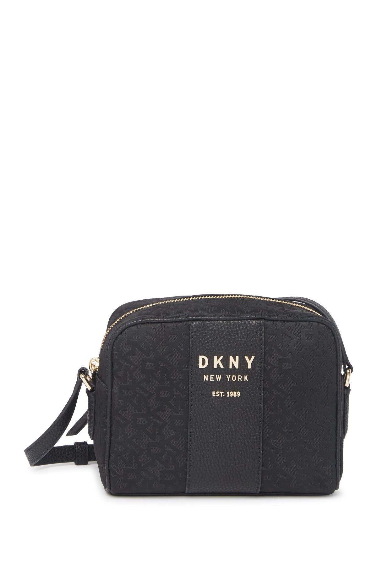Image of DKNY Noho Leather Trim Camera Bag