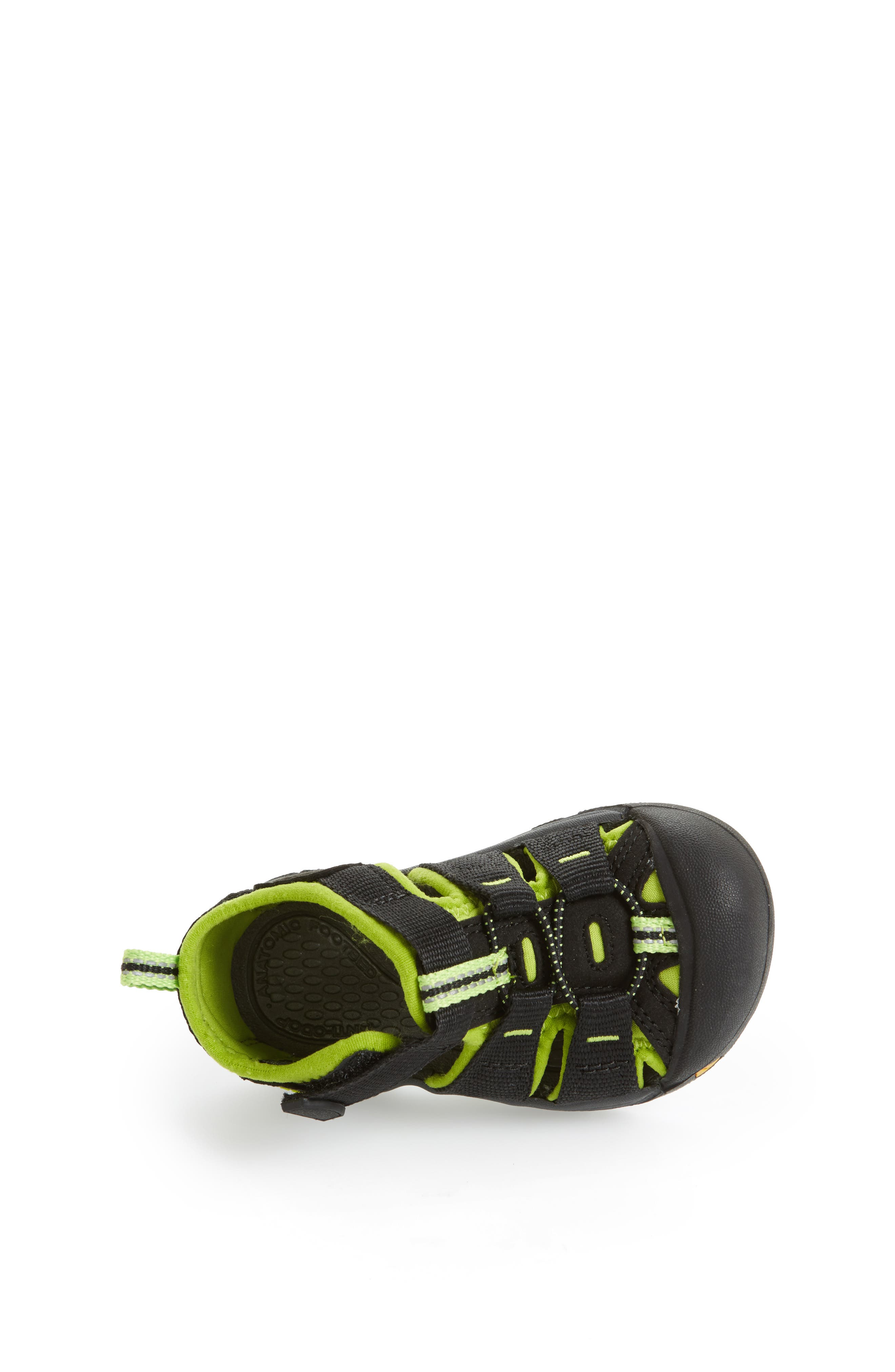 ,                             'Newport H2' Water Friendly Sandal,                             Alternate thumbnail 3, color,                             BLACK LIME